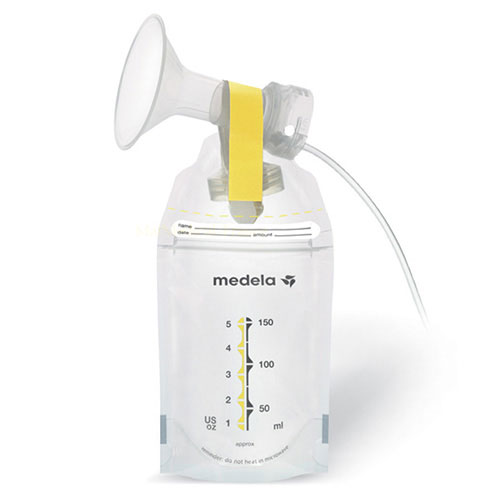 sachets pour lait maternel pump et save medela. Black Bedroom Furniture Sets. Home Design Ideas