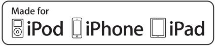 Pour ipod, iphone et ipad.