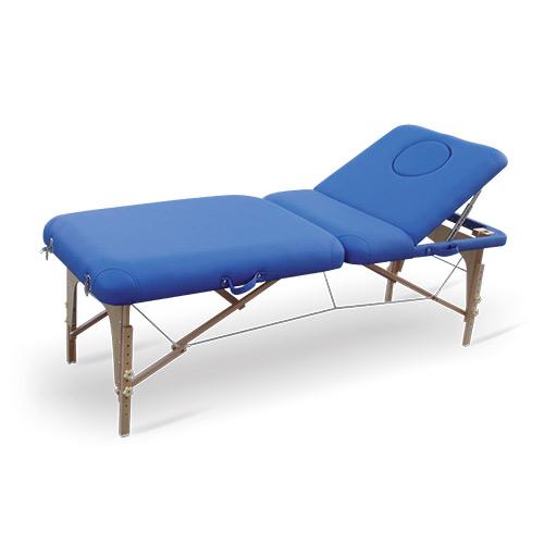 table de massage portable dossier r glable spengler. Black Bedroom Furniture Sets. Home Design Ideas